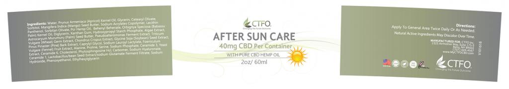 After Sun Care - 2oz