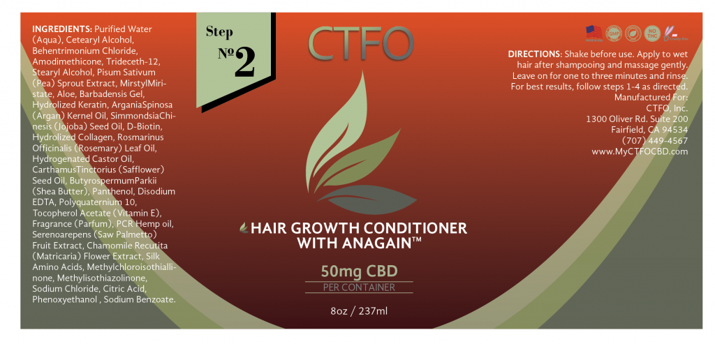 Hair Growth Conditioner with AnaGain