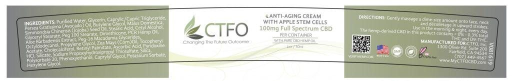 Full Spectrum Anti-Aging Cream with Apple Stem Cells