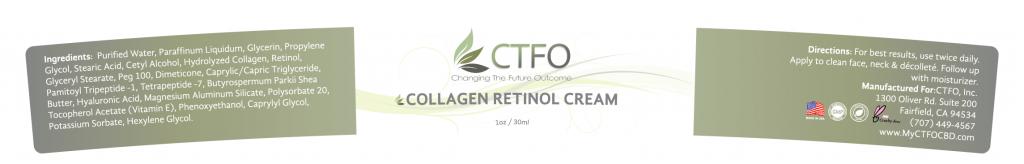 NON CBD Collagen Retinol Cream
