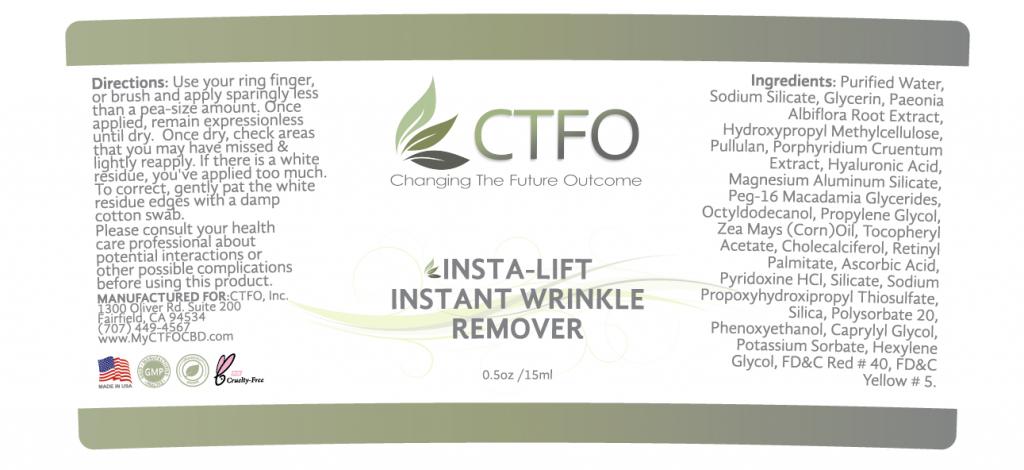 NON CBD Insta-Lift Instant Wrinkle Remover