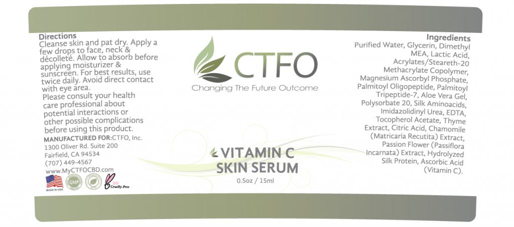 NON CBD Vitamin C Skin Serum