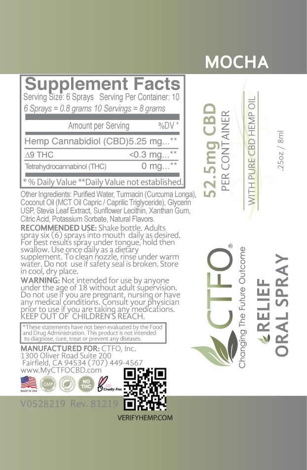CBD Relief Oral Spray - 8ml