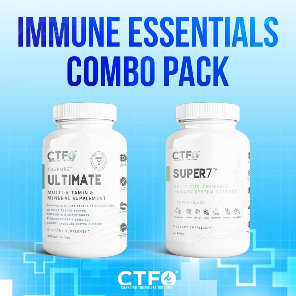 CTFO Immune Essentials Boost Combo Pack